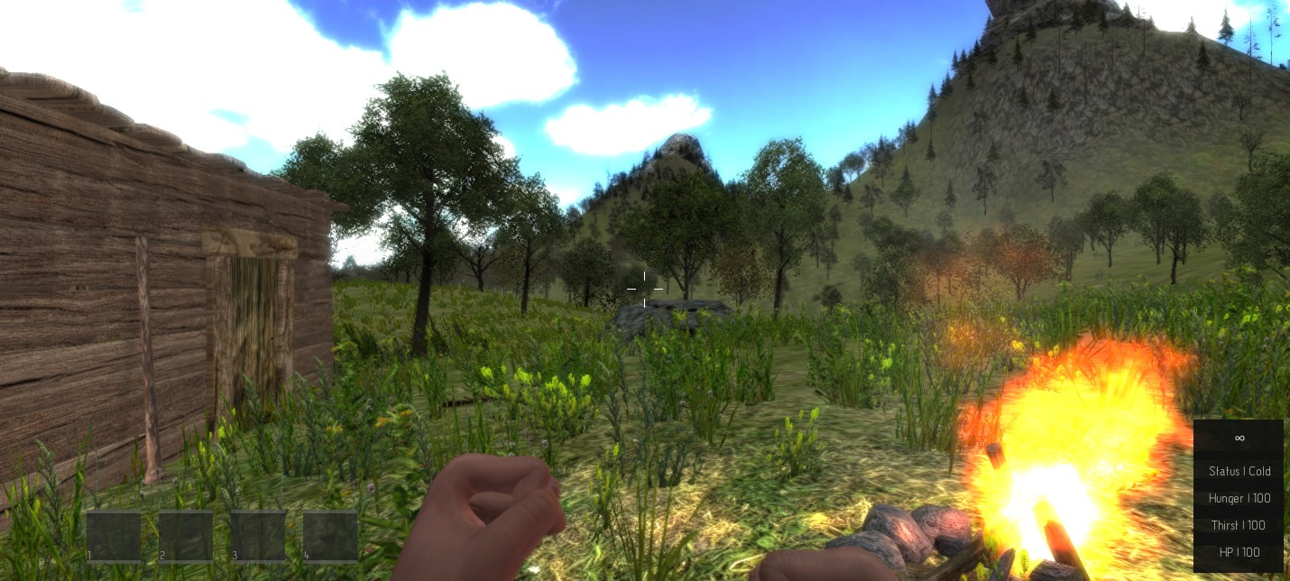 Island x game open world survival with crafting for Survival fishing games
